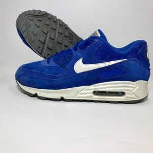 Nike Air Max 90 Essential (Suede Pack) Blue